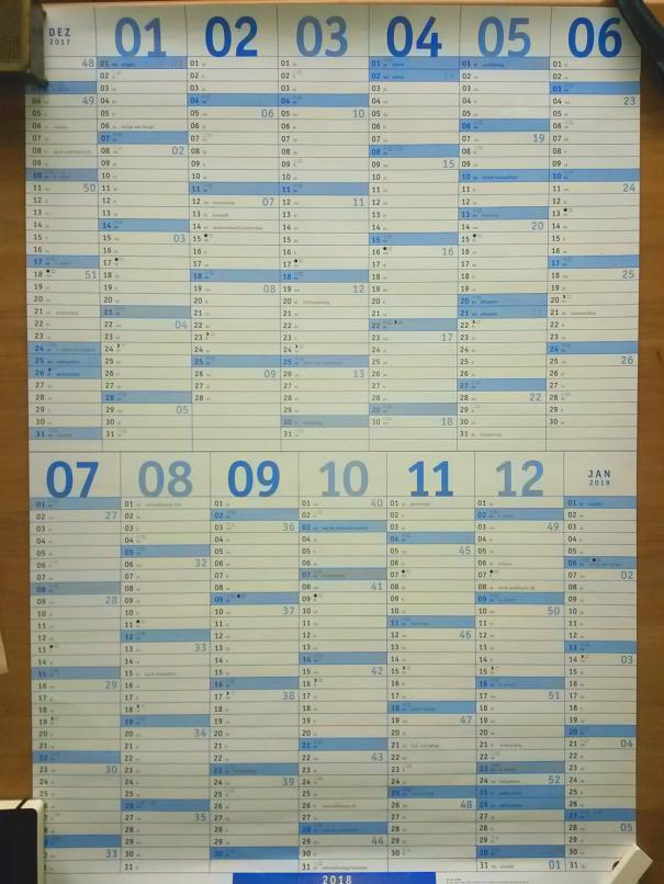 heye-wandkalender